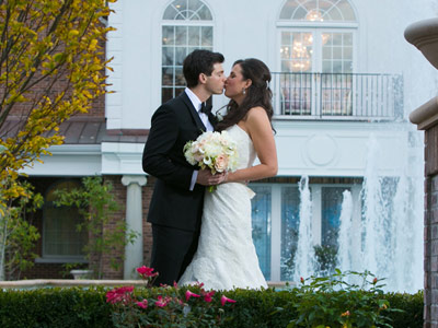 Steal a kiss among the fountains and flora of our Bergen County gardens