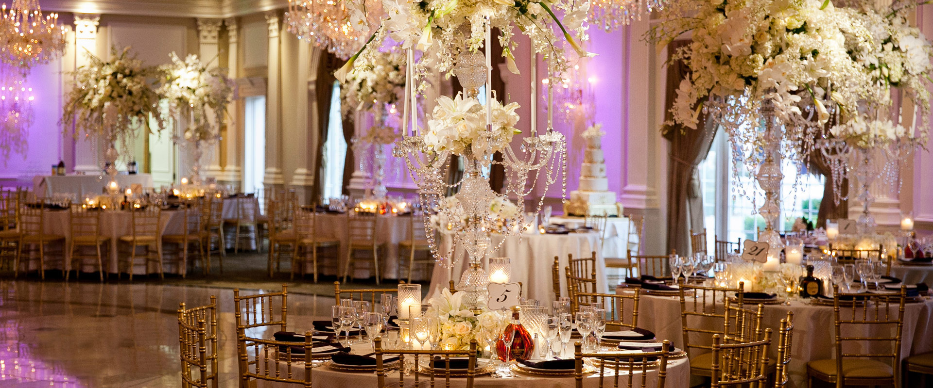 Our suggested NJ wedding professionals make our ballrooms come alive